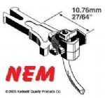 Kadee 19 NEM362 NEM Coupler Long 10.76mm (2pr)
